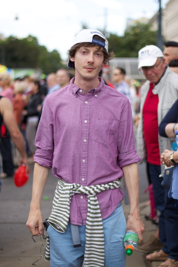 Regenbogenparade 2014 Street Style.