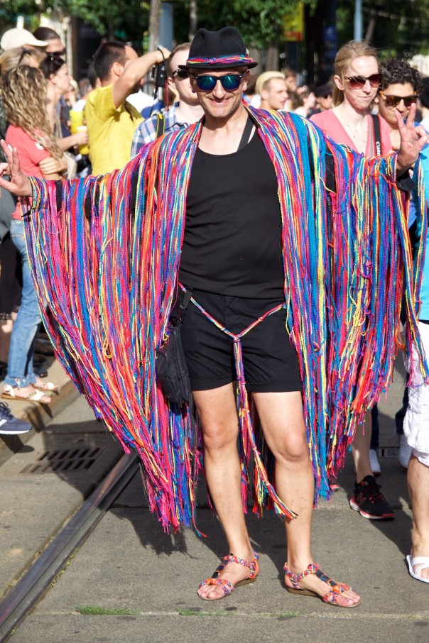 Regenbogenparade 2016 Street Style.